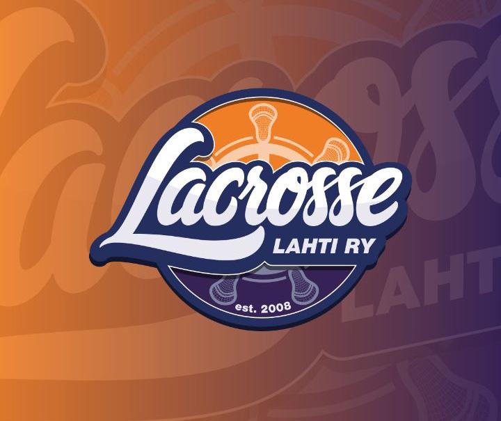 Lahti Lacrosse uusi logo 2018