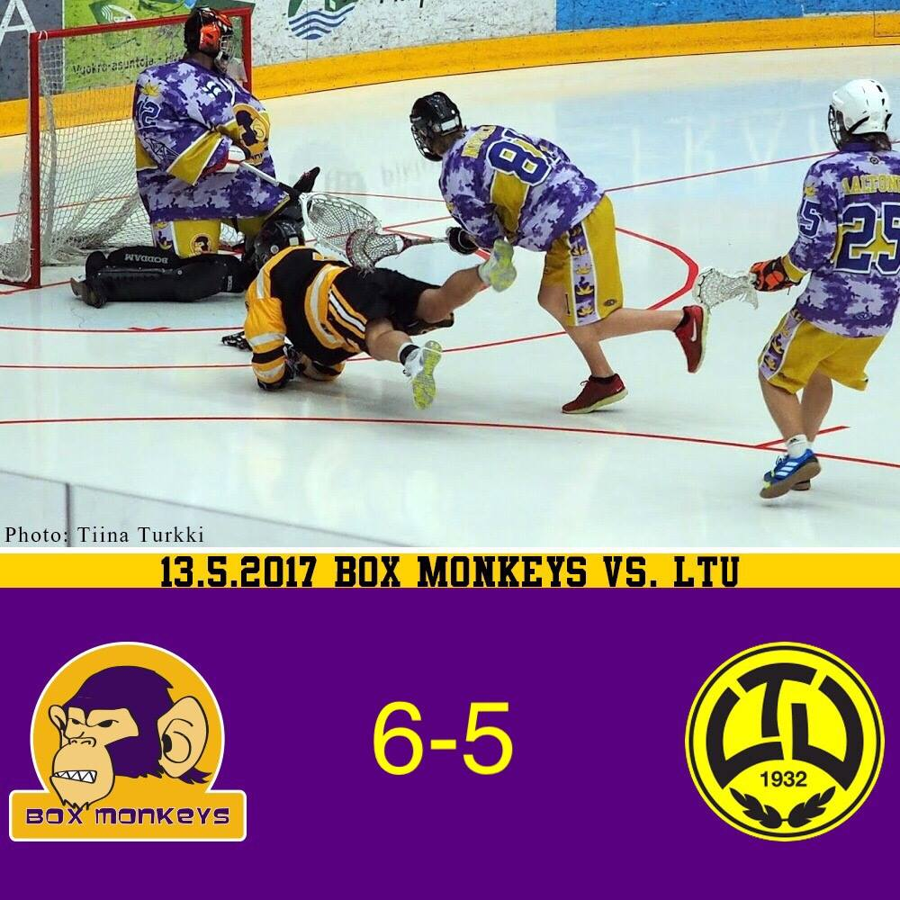 Box Monkeys vs LTU