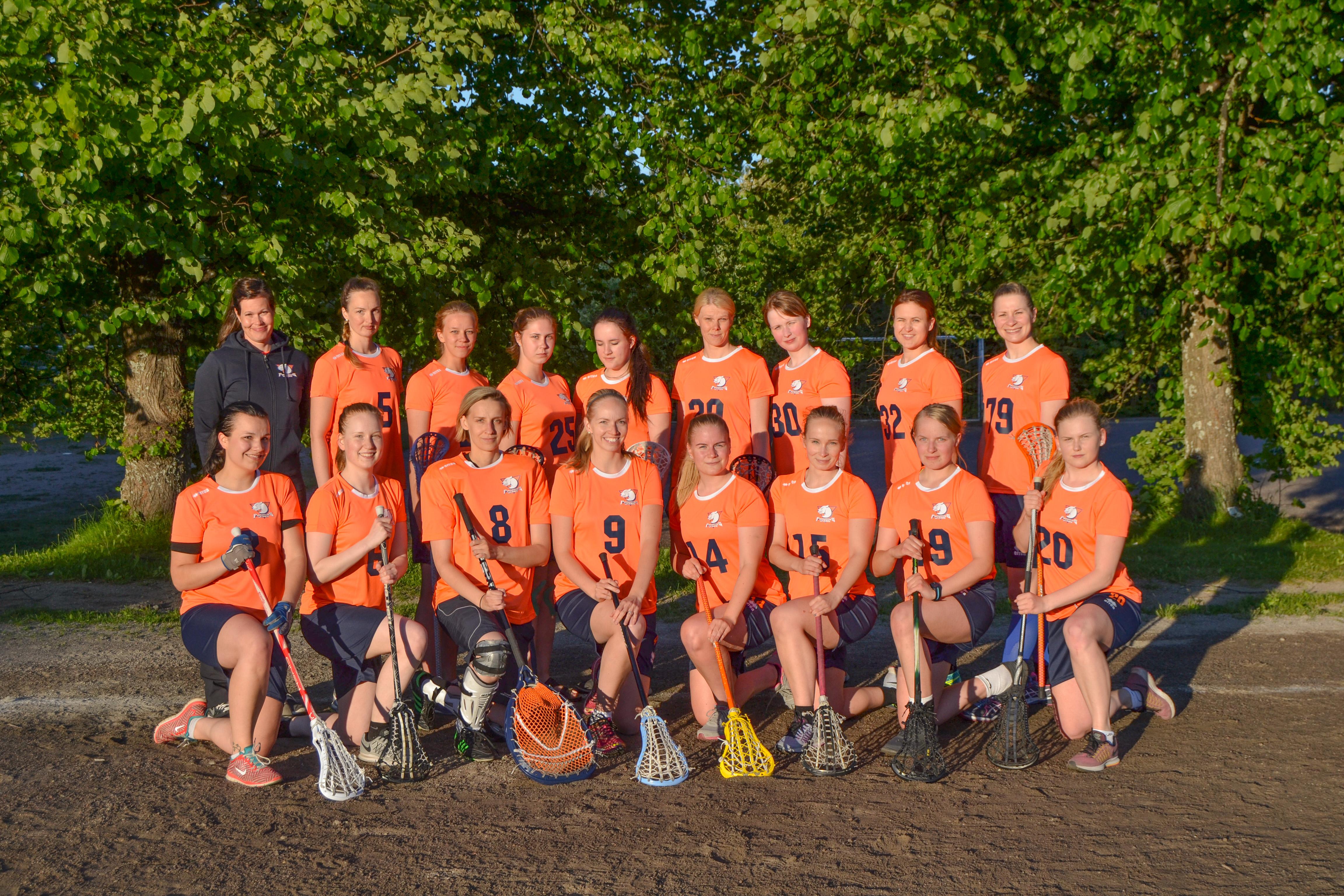 Naisten joukkue 2016 Predators Women