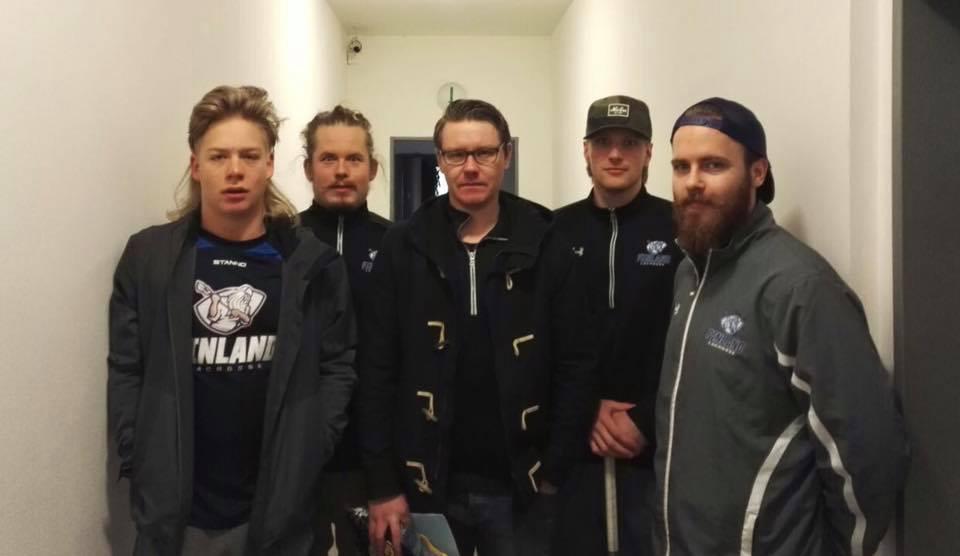 Lahden edustus Prahan E-box turnauksessa 2017